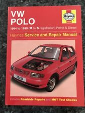 Haynes Manual 3500 - VW Polo 1994 to 1999, (M to S reg) Petrol & Diesel