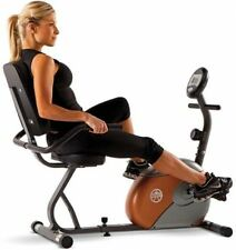 Recumbent Exercise Bike Marcy Home Physical Fitness Cardio Workout Equipment