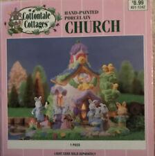 Cottontale Cottages Jo-ann Fabrics Porcelain Church Original Box 1999