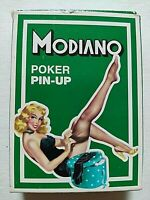 CARTE DA GIOCO MODIANO PIN-UP POKER MAZZO PLAYING CARDS ORIGINALI NUOVE