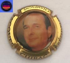 Capsule de Champ PIERRE MIGNON Cuvée Jacques Chirac Grosse Ecriture Ctr Or !!