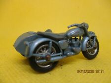 VINTAGE  MATCHBOX TRIUMPH MOTORCYCLE AND SIDECAR