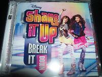 Shake It up Break It Down Disney CD DVD (Selena Gomez  Margaret Durante) - New