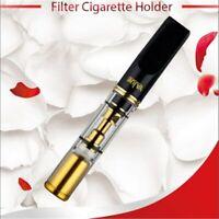 Smoke Pipe Resin Cigarette Holder Washable Heath Filter Mouthpiece for Cigarette