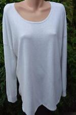 SUSSAN White Marble TOP SIZE XL Stylish Rounded Hem NEW RRP $79.95 Long Sleeve