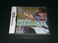 Glory of Heracles (Nintendo DS) Lite DSi XL 2DS 3DS Complete Great Condition