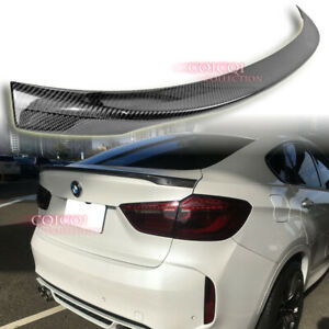 Carbon Fiber  BMW 2015-2019 F16 X6 X6M Performance type trunk spoiler Xdrive ◎