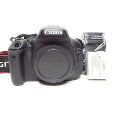 EXC++ Canon EOS 600D 18.0MP Digital SLR Camera - Black (Body Only) (Low Shutter)