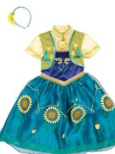 Disney Frozen Fever Anna  Costume/Outfit/Fancy Dress Up ~ Girls 11-12 book day
