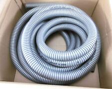 Flexa 2011.111.022   Metallschlauch Verzinkter Stahl Grau   ca. 10 Meter