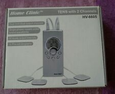 Home Clinic Tens with 2 Channels Used in Box