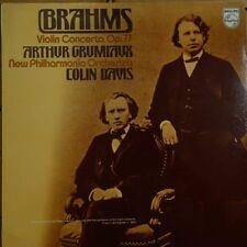 6500 299 Brahms Violin Concerto / Grumiaux / Davis / NPO