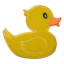 Yellow Rubber Ducky Applique Patch (Iron on)