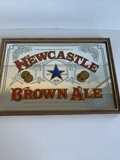 More details for vintage newcastle brown ale, pub or home bar, mirror,  framed *1 (600)