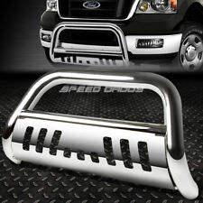 FOR 04-16 FORD F150 NON-ECOBOOST/03+EXPEDITION CHROME BULL BAR PUSH BUMPER GUARD