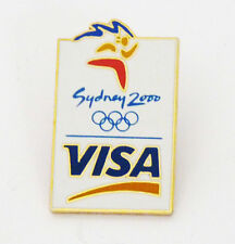 Sports Mem, Cards & Fan Shop Smart Visa Atlanta 1996 Olympic Sponsor Pin Fan Apparel & Souvenirs
