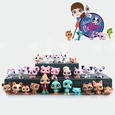 New 25Pcs Cute Rare Littlest Pet Shop Lot Figures Collection Toy Cat Dog Loose
