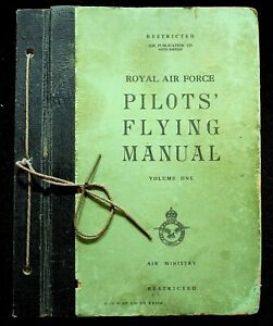 RAF PILOTS' FLYING MANUAL Vol.1: AP 129 5th Edition November 1952/ DVD