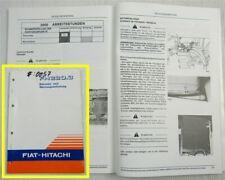 Fiat Hitachi FH220.3 Bagger Betriebsanleitung Bedienungsanleitung Wartung 1994