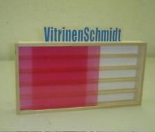 VitrinenSchmidt® 01SN Sammler Vitrine 60cm Spur N genutet 5 Stellebenen