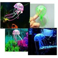 Bright Jellyfish Aquarium Fish Tank Decoration Animal T8S1 Accessories W6D0 A4H0