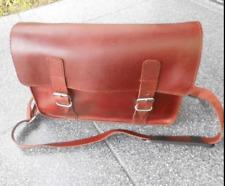Saccoche PC / MAC / iPad, en cuir pour velo