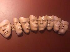 8 Masken für AMBU SAM Puppe Erste-Hilfe Übungspuppe Reanimationspuppe AED