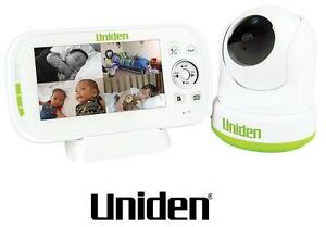 """UNIDEN BW3451R 4.3"""" WIRELESS DIGITAL BABY MONITOR PAN & TILT  AND REMOTE VIEW"""