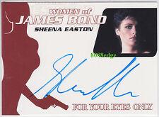 2014  WOMEN OF JAMES BOND AUTO: SHEENA EASTON #WA58 AUTOGRAPH 2x GRAMMY WINNER