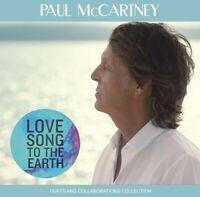 PAUL MCCARTNEY LOVE SONG TO THE EARTH 1CD BEATFILE BFP-162CD1 INSIDE THING