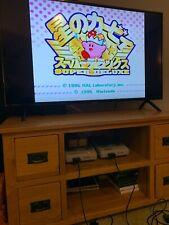 Kirby super deluxe Super Nintendo SNES Cart for the super famicom Japanese