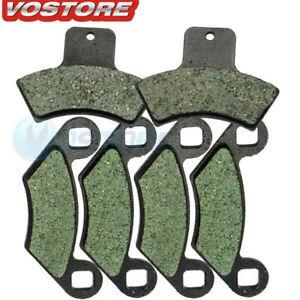 ECCPP/® Front Kevlar Brake Pads FA159 For Polaris Sportsman 500 4x4 HO 1998-2002 1 Pair