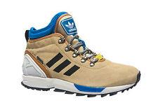 Adidas ZX Flux Winter Suede Sneakerboots Sand Wheat S82930 Men Sz 8 New