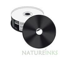 25 piezas x Mediarange negros Inferior CD-R Completo Blanco Para Escribir 52x