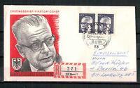 """Berlin, FDC + Einschreiben """"Heinemann"""" MiNr. 394 ESSt Berlin 25.06.1971"""