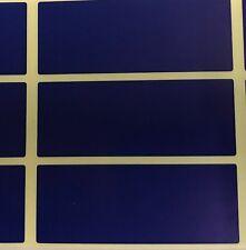 Large - Blue 30 x 78mm Colour Code Rectangles / File / Folder Stickers Labels