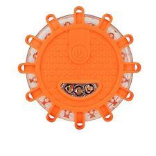 Magnetic Base Flashing Warning Roadside Emergency Disc LED Flare