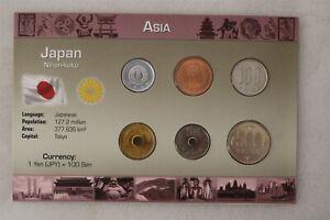 JAPAN COIN SET WITH COA B38 #28