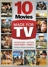 10 MOVIES MADE FOR TV (3PC) - DVD - Region 1 - Sealed