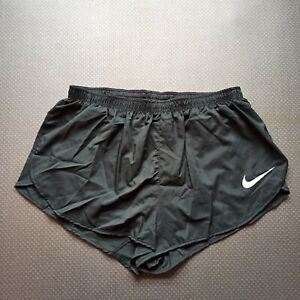 Nike pro elite split shorts track and field running athletics gray men Olympics