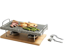 KitchenCraft Artesà Marble Hot Stone Grill, table grill bbq