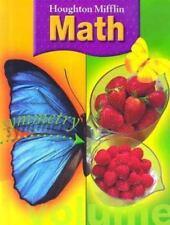 Houghton Mifflin Math (Grade 3) Carole Greenes, Miriam A. Leiva, Jean M. Shaw H