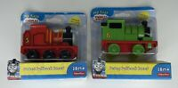 Thomas & Friends Fisher-Price PERCY + JAMES Pullback Racer Thomas The Train NEW
