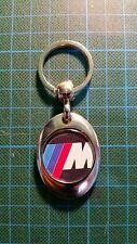 Llavero metálico BMW M personalizado. Key chain, porte cles, schlusselbrett,