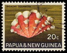 "PAPUA NEW GUINEA 273 (SG145) - Frilled Clam Shell ""Tridacna squamosa"" (pa20965)"