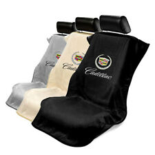 Seat Armour Cloth Seat Cover Towel fit for Cadillac - Cadillac Logo