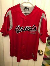 New California Angels True Fan MLB authentic jersey medium
