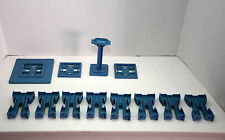 Chuggington Interactive Plastic Riser Track Lot 12 Piece Interactive Set