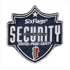 Six Flags Amusement Park Security Patch (Service / Pride / Safety)