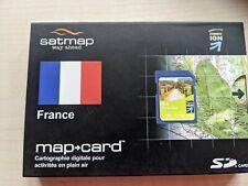 Satmap map cards. France Midi Pyrenees